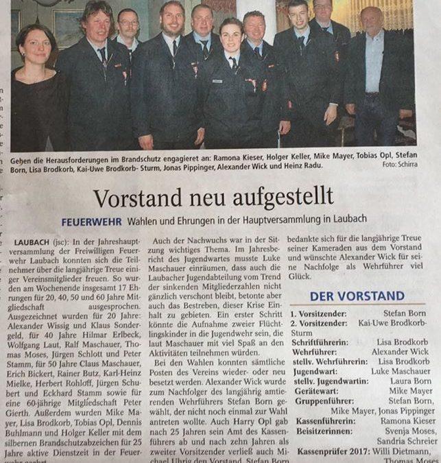 Freiwillige Feuerwehr Grävenwiesbach-Lau…