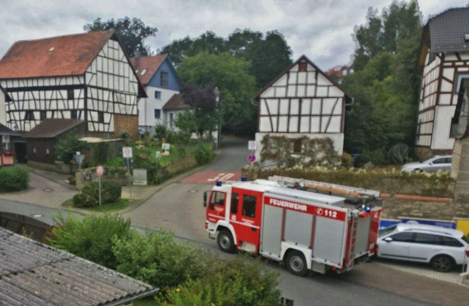 Feuerwehr Grävenwiesbach – 55-2017-Wasserrohrbruch