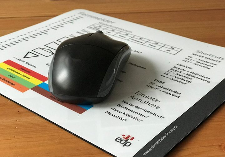 Für gut befunden und bestellt! EDP – Mousepads…