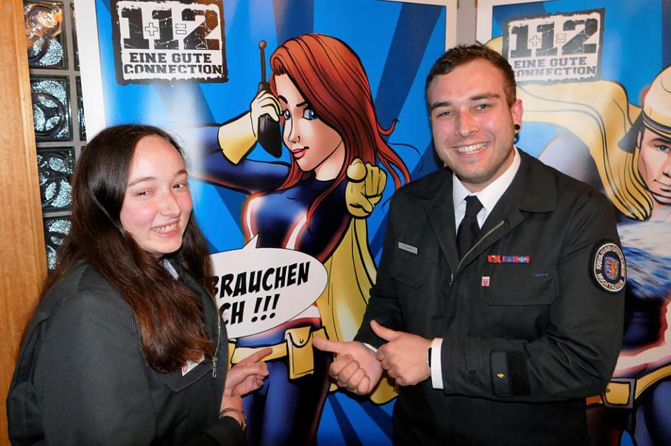 """Kreis-Jugendfeuerwehr Superhelden ziehen """"noch"""" nicht richtig"""