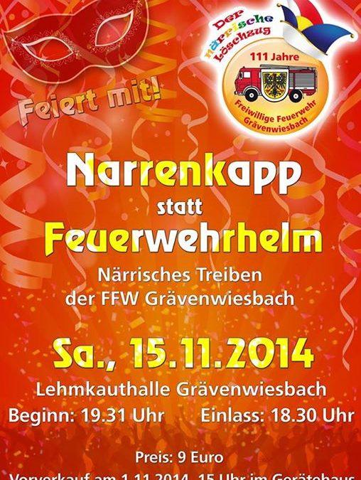111 Jahre Freiwillige Feuerwehr Grävenwiesbach….