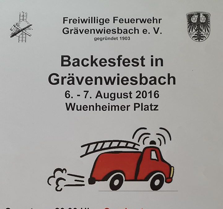 Backesfest in Grävenwiesbach