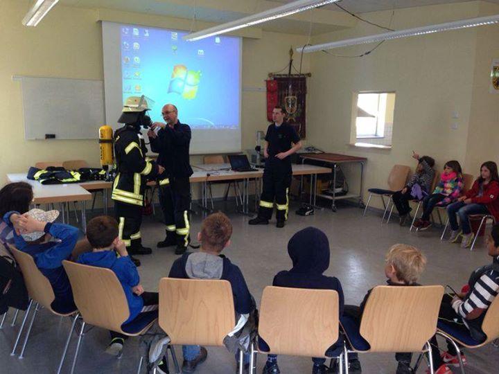 Besuch der Klasse 3b der Wiesbachschule Grävenwi…
