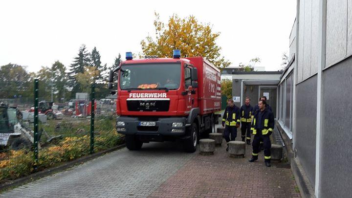 Einsatzkräfte der Feuerwehren der Stadt Friedric…