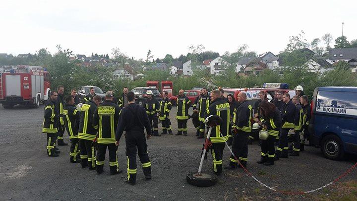 Heute hatten wir gemeinsam mit der Feuerwehr Grä…