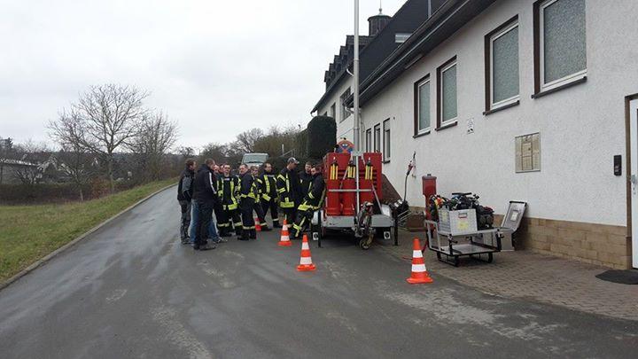 Heute Inbetriebnahme und Test der Notstromversor…