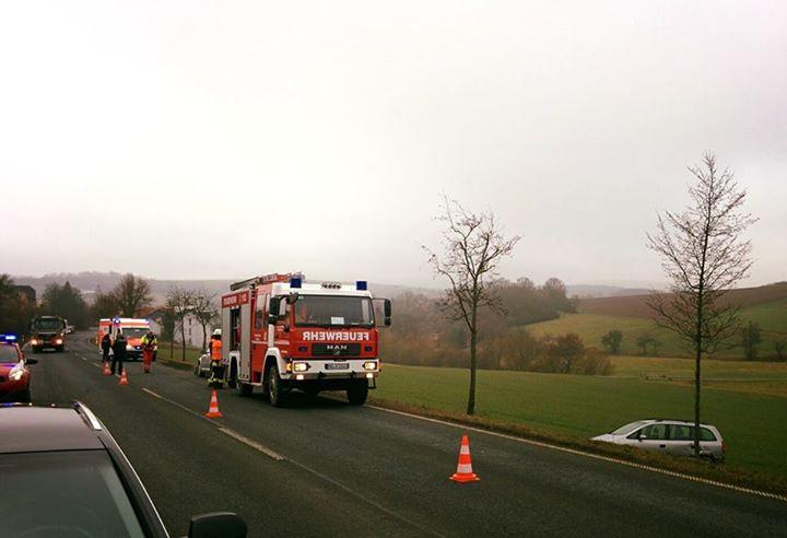 Heute wieder ein Einsatz für die Feuerwehr Gräve…