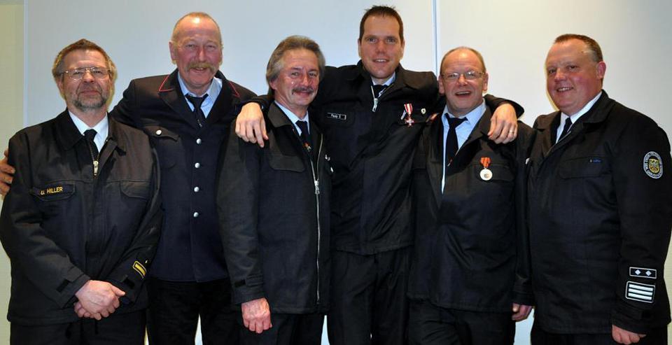 Jahreshauptverammlung der Feuerwehr Grävenwiesbach: Führungswechsel bei der Wehr kündigt sich an…