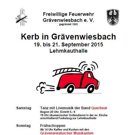 Kerb in Grävenwiesbach 2015