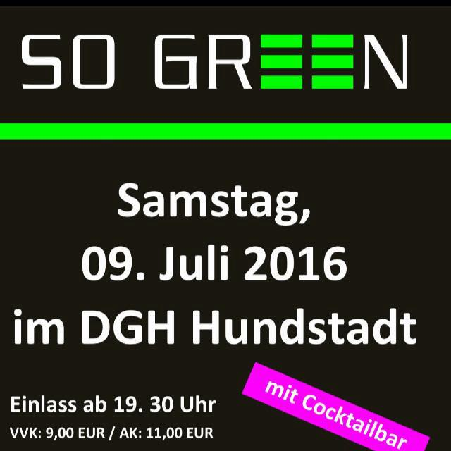 So Green – 100 Jahre SGH