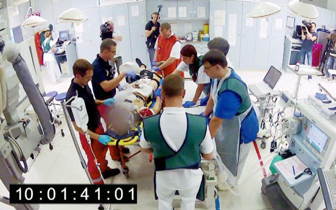 Wow, sehr beeindruckend was Rettungsdienste und …