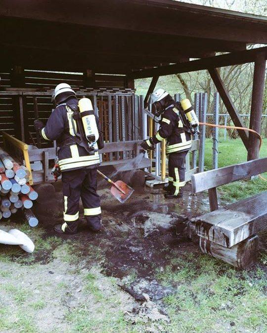 Zwei Brandeinsätze in Folge gab es heute Vormitt…
