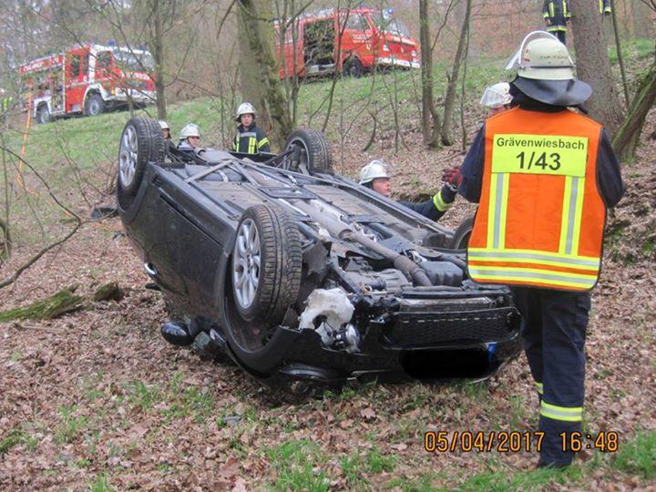 Zwei Einsätze forderten die Feuerwehren Grävenwi…