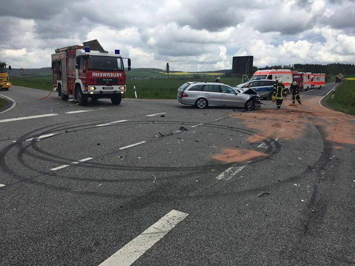 #EinsatzFW 24-2017 Bei einem Verkehrsunfall am …