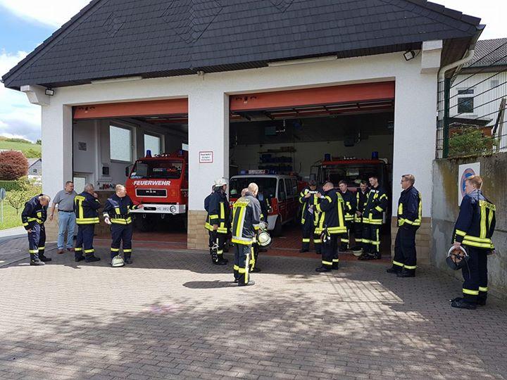 Heute Waldbrandübung der Gemeinde Grävenwiesbach…