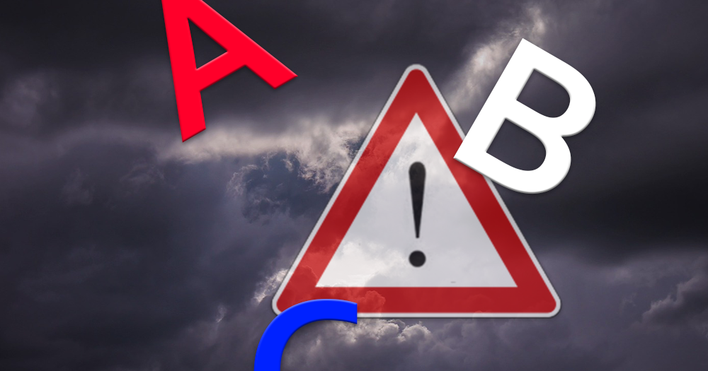 Das große Unwetter-ABC zum Monatswechsel