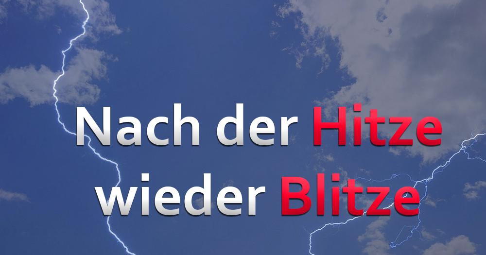 Sommer auf Berg-und-Tal-Fahrt: Erneut Kurz-Hitze und Unwetter?