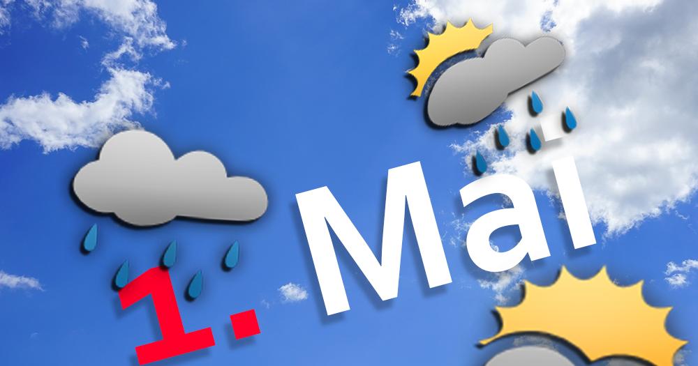 Das Wetter am Maifeiertag