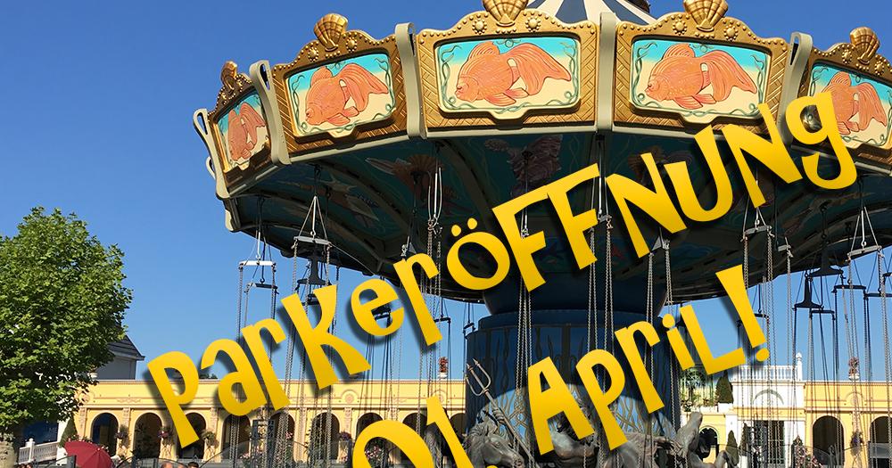 Eröffnung der Freizeitparks am 01. April: Trocken oder nass?