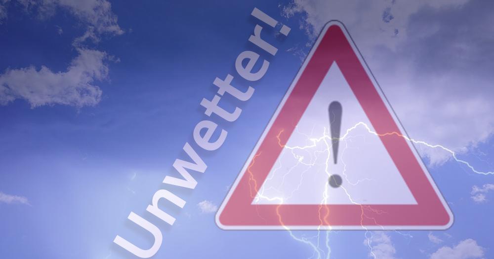 Unwetter in der neuen Woche: Damit muss man rechnen!