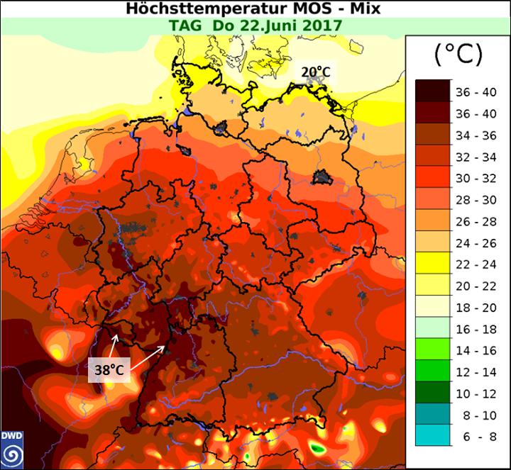 Es wird heiß. Dementsprechend steigt auch die G…