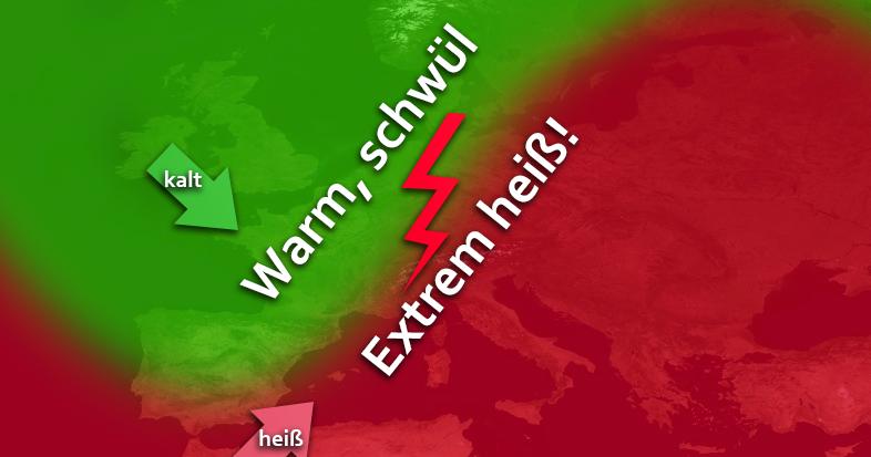 Trend: Extreme Hitze und heftige Unwetter