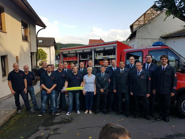 22 Jahre Freundschaft Feuerwehr Mönstadt – Lösch…