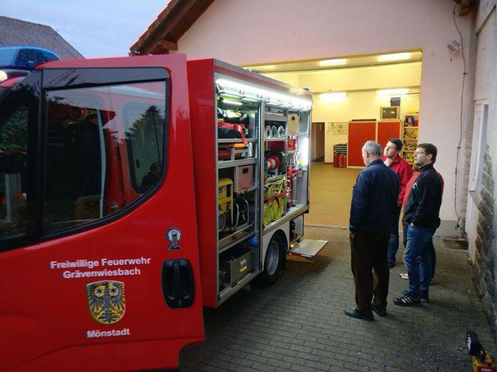 Gestern waren Kameraden der Feuerwehr Waldsolms-…
