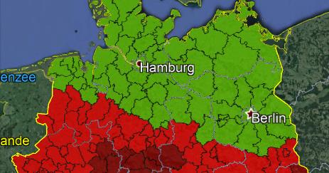 Friederike hinterlässt Spuren