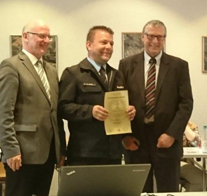 Wir gratulieren unserem Kameraden Sascha Herr zu…