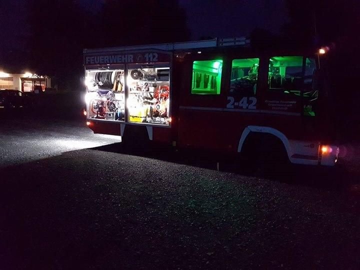 Strom sparen – Feuerwehr rüstet auf LED um…
