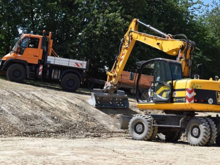 Im Herbst soll der Bauernhofspielplatz in Hundstadt fertiggestellt sein.