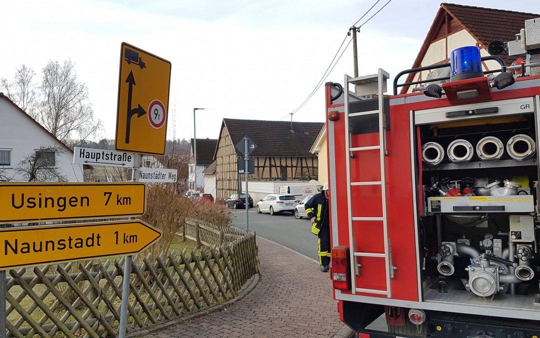 Einsatz Feuerwehr Hundstadt…