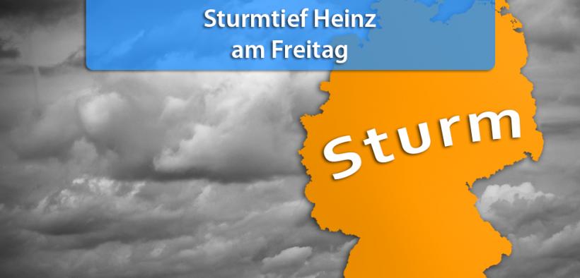 """Neuer Tag, neues Tief: Morgen kommt Sturm """"Heinz"""""""