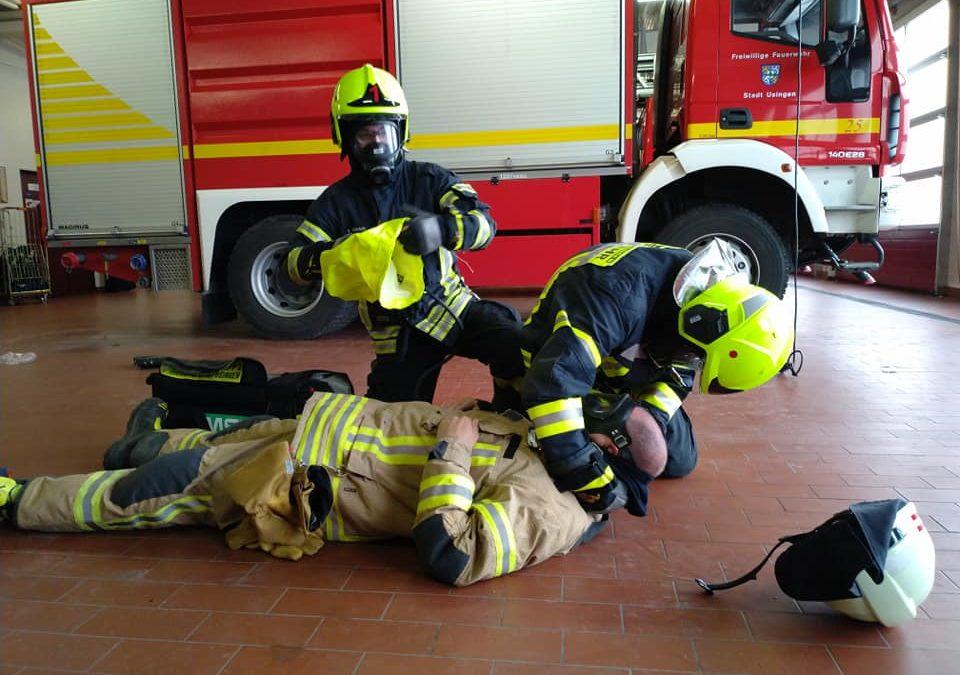 Atemschutznotfall-Training…