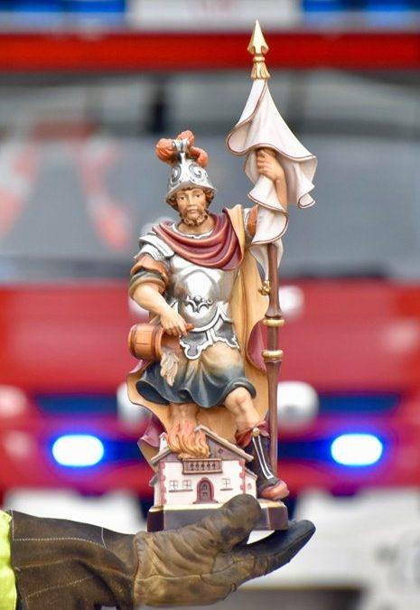 Der 4. Mai ist der Gedenktag des Hl. Florian, de…