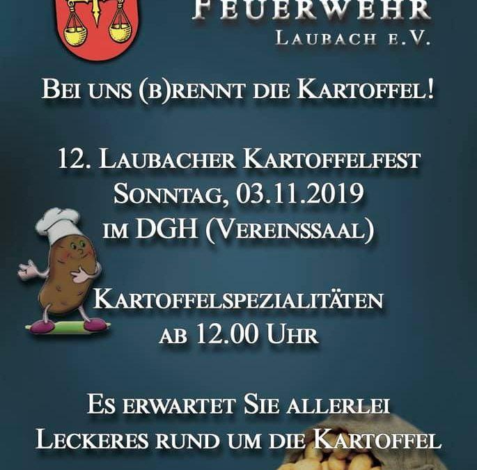 12. Laubacher Kartoffelfest Am Sonntag ist es w…