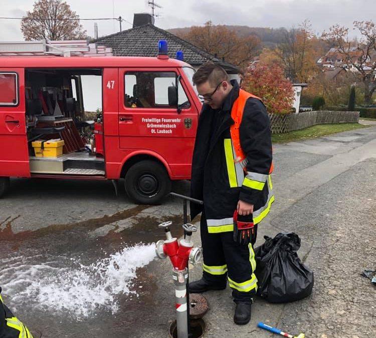 Hydranten-Prüfung…