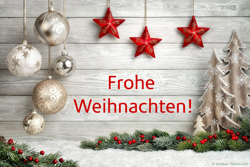 Wir wünschen allen eine besinnliche Weihnachtsze…