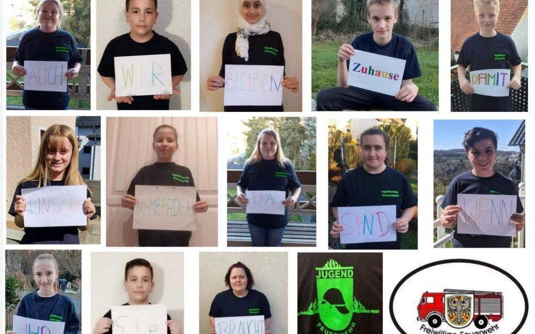 Auch unsere #Jugendfeuerwehr ist im #homeoffice …