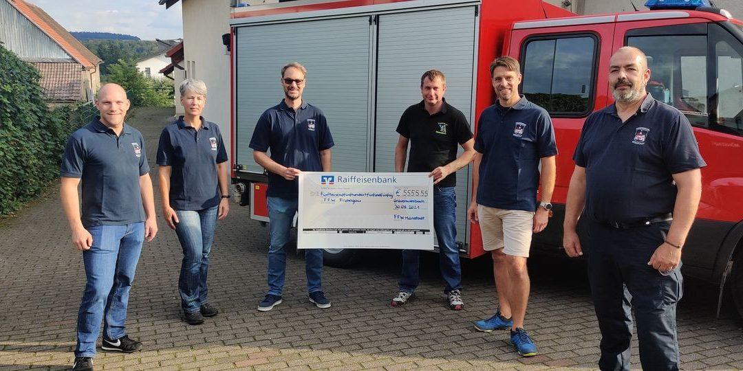 Spende für Hochwassergebiete in der Eifel…